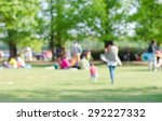 Blurred Background Of People I...