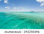 cruise ship sailing along the...   Shutterstock . vector #292250396