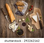 french cuisine. different types ... | Shutterstock . vector #292262162