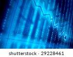 blue data space | Shutterstock . vector #29228461