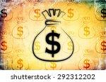 dollar icon illustration | Shutterstock . vector #292312202