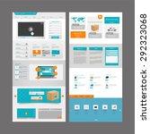 huge website elements collection | Shutterstock .eps vector #292323068