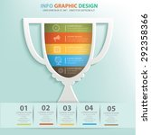 trophy info graphic design...