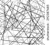 random lines background.... | Shutterstock .eps vector #292387685