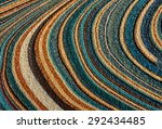 a portrait of a circular colors ... | Shutterstock . vector #292434485