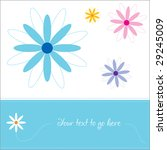 greeting card   invitation for... | Shutterstock .eps vector #29245009
