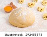 dough   ravioli  | Shutterstock . vector #292455575
