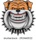 angry dog | Shutterstock .eps vector #292460522