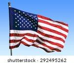 american flag  flag  american... | Shutterstock . vector #292495262