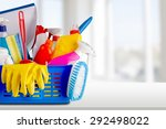 cleaning  cleaning equipment ... | Shutterstock . vector #292498022