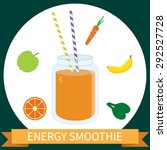 illustration of healthy energy... | Shutterstock .eps vector #292527728