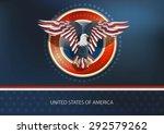 America Eagle Vector
