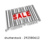 sale bar code   Shutterstock . vector #292580612