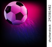 soccer ball. football... | Shutterstock .eps vector #292581482
