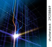 information   cyberspace...   Shutterstock . vector #29258869