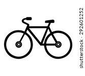 bike   Shutterstock .eps vector #292601252
