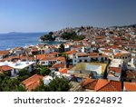 skiathos island is located in... | Shutterstock . vector #292624892