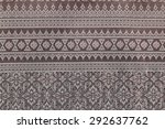 thailand beautiful woven | Shutterstock . vector #292637762
