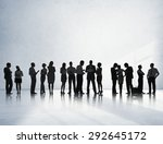 business people conference... | Shutterstock . vector #292645172