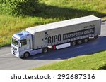 klaipeda lithuania july 01 man...   Shutterstock . vector #292687316