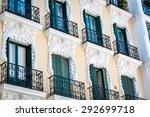 Facade Of A Building With...