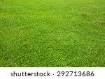 close up green lawn texture | Shutterstock . vector #292713686