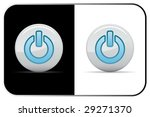 vector power icon. two colors.... | Shutterstock .eps vector #29271370