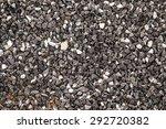 Dark Gravel Texture Background...