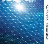 Photovoltaic Panel With Sun An...