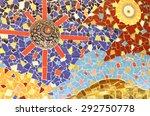mosaic flooring or walls... | Shutterstock . vector #292750778