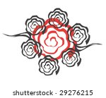 vector design tribal tattoo | Shutterstock .eps vector #29276215