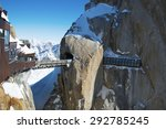 Mountain Peak Aiguille Du Midi...