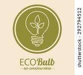 light bulb icon design  vector... | Shutterstock .eps vector #292794512