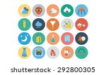 flat science and technology... | Shutterstock .eps vector #292800305