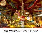 Motion Blur Of Vintage Horse O...