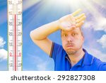 it  s a very hot day | Shutterstock . vector #292827308