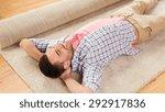 people  repair and renovation...   Shutterstock . vector #292917836