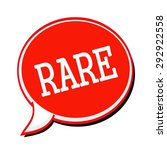 rare white stamp text on red... | Shutterstock . vector #292922558
