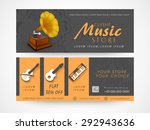 music store banner or website...