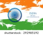 india independence day. 15 th... | Shutterstock .eps vector #292985192