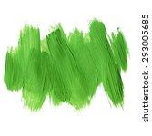 green ecology acrylic brush... | Shutterstock .eps vector #293005685