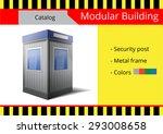 modular building  a series of... | Shutterstock .eps vector #293008658