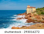 Cliffs Of The Tuscan Coast ...