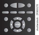 vector remote tv control