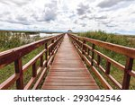 Beautiful Of Wooden Bridge And...