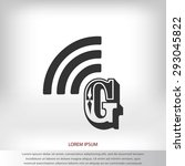 letter g  icon  | Shutterstock .eps vector #293045822