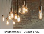 decorative antique edison style ... | Shutterstock . vector #293051732