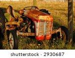 Old Derelict Tractor