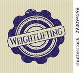 weightlifting rubber seal | Shutterstock .eps vector #293094296