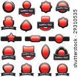 set of design elements | Shutterstock .eps vector #29310535